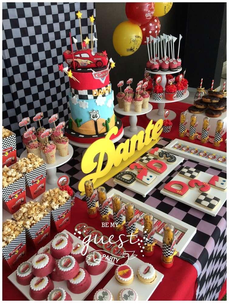 Cars Disney movie Birthday Party Ideas Cars birthday parties