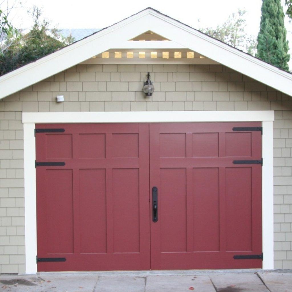 Outswing Garage Door Hardware Carriage doors, Garage