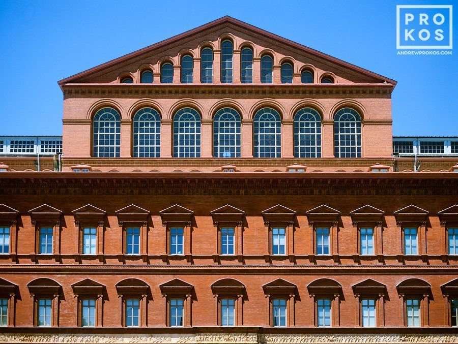 National Building Museum Exterior Fine Art Photo by