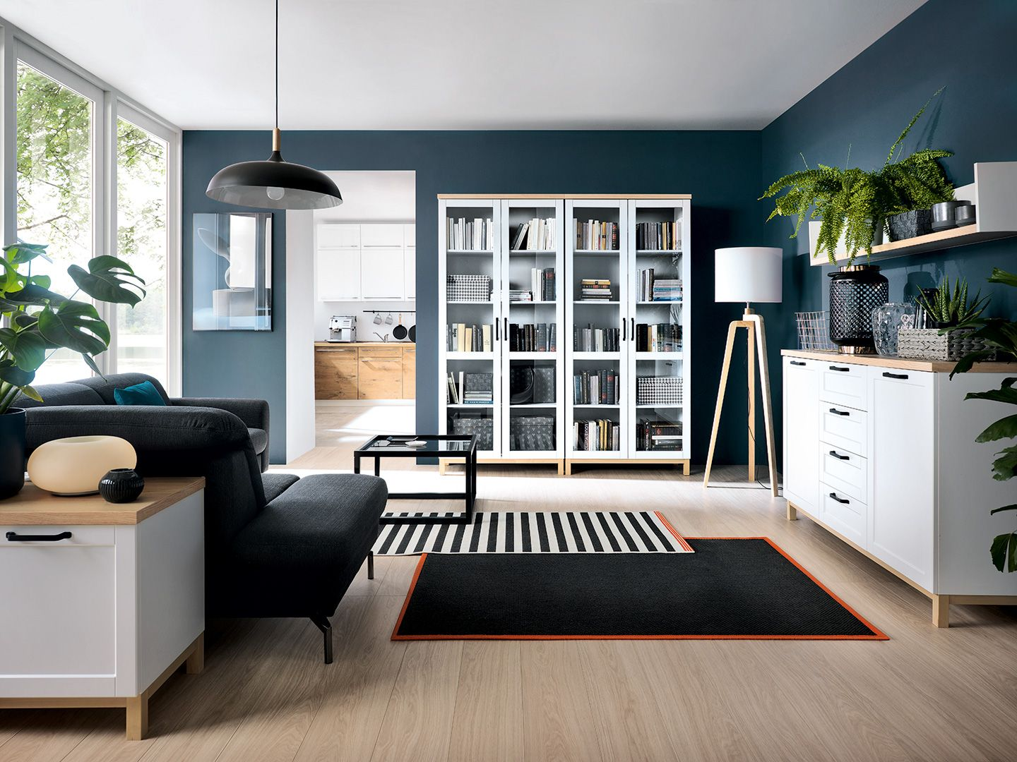 A gorgeously simple Scandinavian style living room furniture range