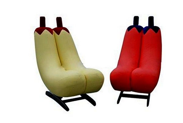 Attirant Banana Pepper Rocking Chairs