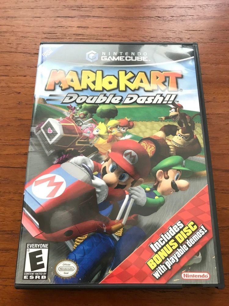 Mario Kart Double Dash Special Edition Nintendo Gamecube Cib Excellent Mario Kart Gamecube Video Games Ps3