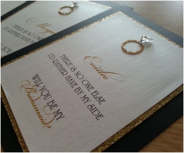 Creative Ideas For Asking Bridesmaids The Inspired Note Invitation Stationery Studio Provides Truly