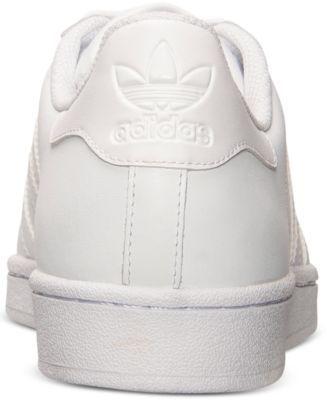adidas superstar occasionale uomini scarpe da traguardo white 9