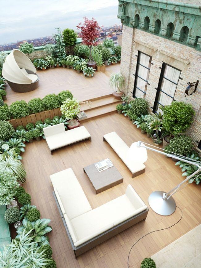 Photo of Giardini sul tetto nella città