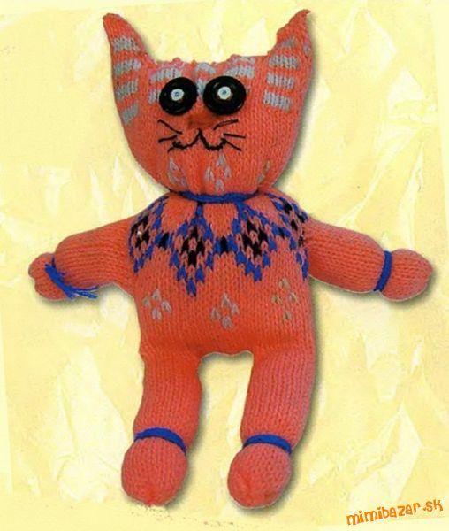 Jednoduchá mačka z rukavice