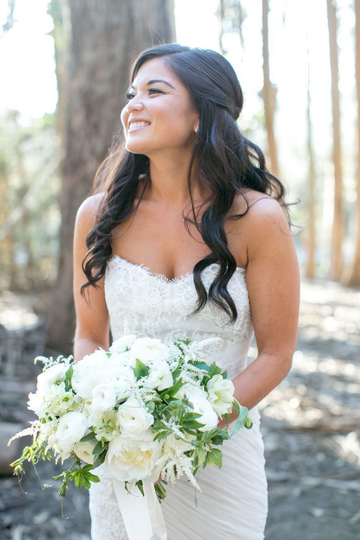 The prettiest bridal hairstyles from real weddings brides