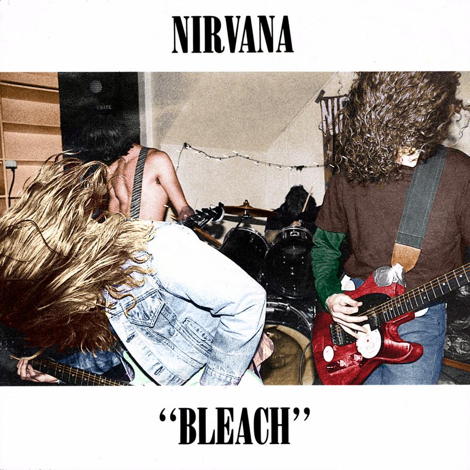 I Manually Colorised The Bleach Album Cover Nirvana Fotos De Nirvana Bandas De Rock Nirvana