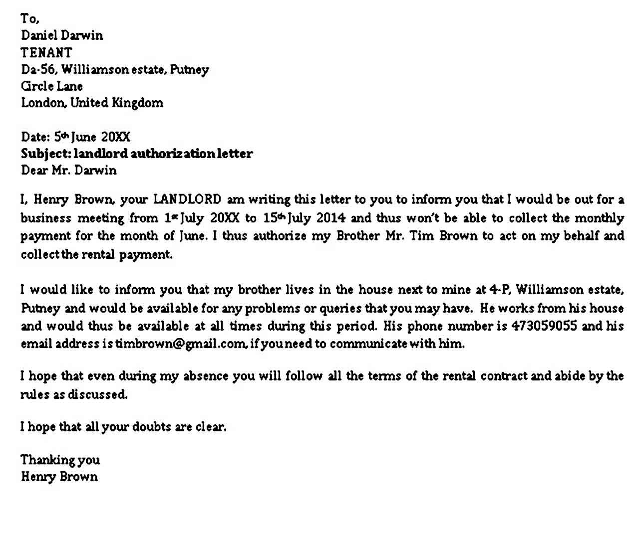 27+ Landlord reference letter sample uk inspirations