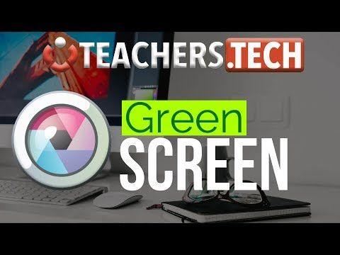 75 Change Background Using Green Screen Pixlr Youtube Greenscreen Change Background Teacher Tech