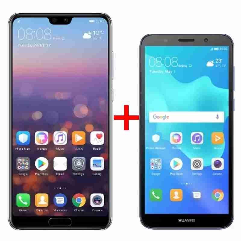 Fantastic Combo - 📱 #Huawei #P20+ Huawei #Y5 Prime 2018