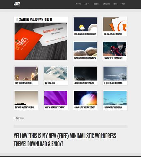 Plantillas Wordpress Gratis estilo Pinterest | Plantas y Estilo