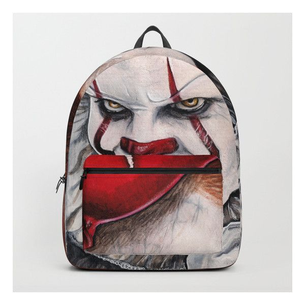 6827026f01d32 Pennywise Backpack ( 70) ❤ liked on Polyvore featuring bags ...