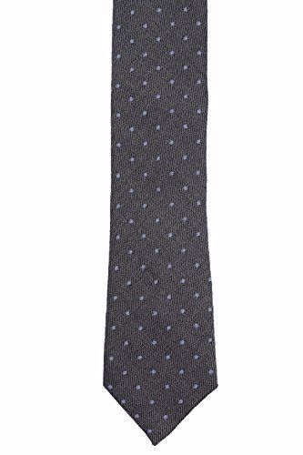 Good Selling Get Online Linen Necktie - Thin white stripes on blue herringbone pattern - Notch SUIJIN Notch Extremely Cheap Online vW9bO