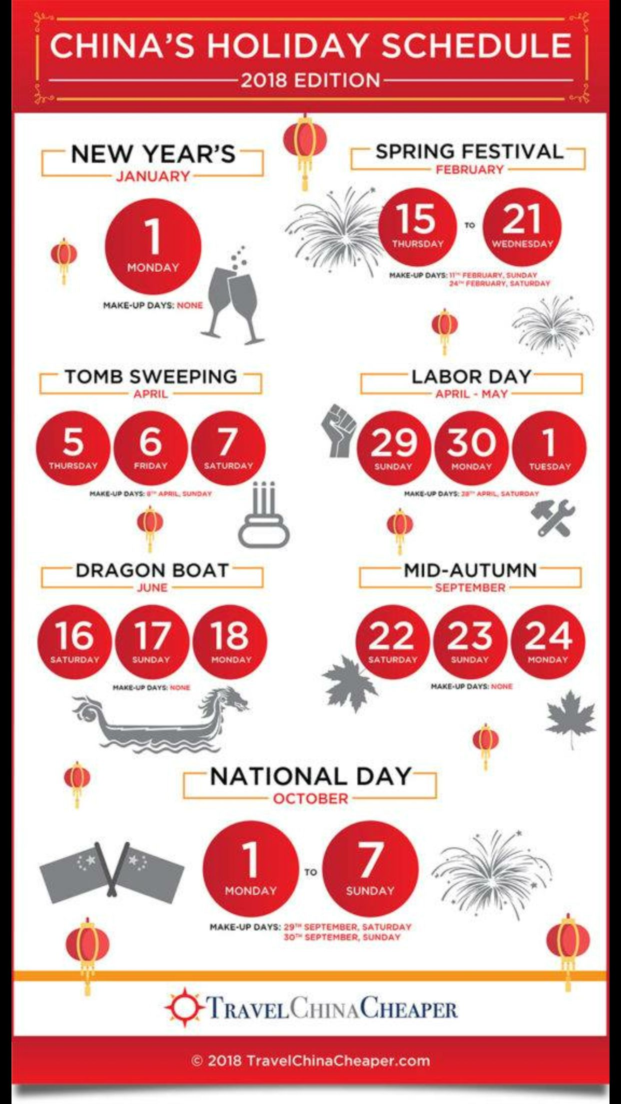 Holidays Holiday calendar, Holiday schedule, Chinese new