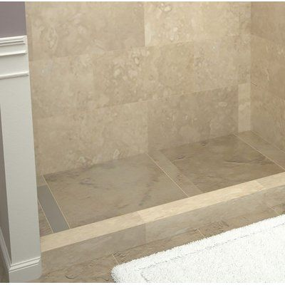 Tile Redi 42 X 36 Single Threshold Shower Base With Drain Cover