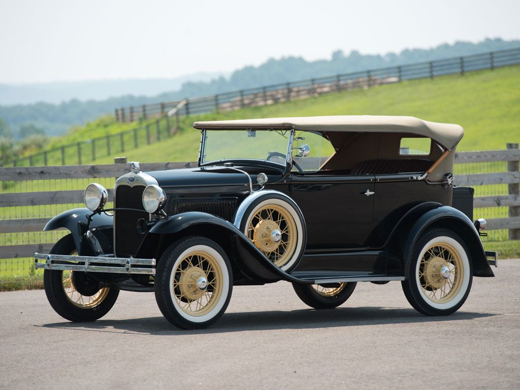 1930 Ford Model A Deluxe Phaeton Hershey 2014 Rm Auctions 1930 Ford Ford Models Classic Cars Vintage