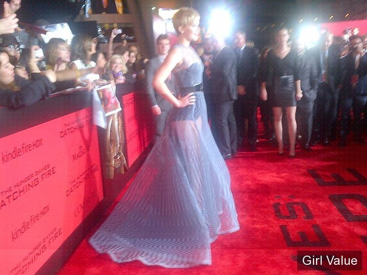 jennifer lawrence's 'catching fire' premiere lawrence photos