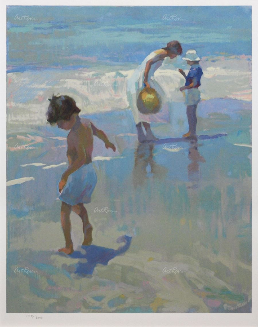 Don hatfield 9001141 art serigraph beachy art