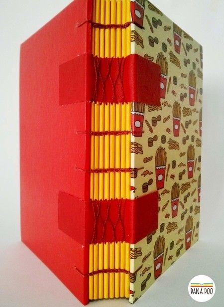 Caderno French Fries | Batatinhas