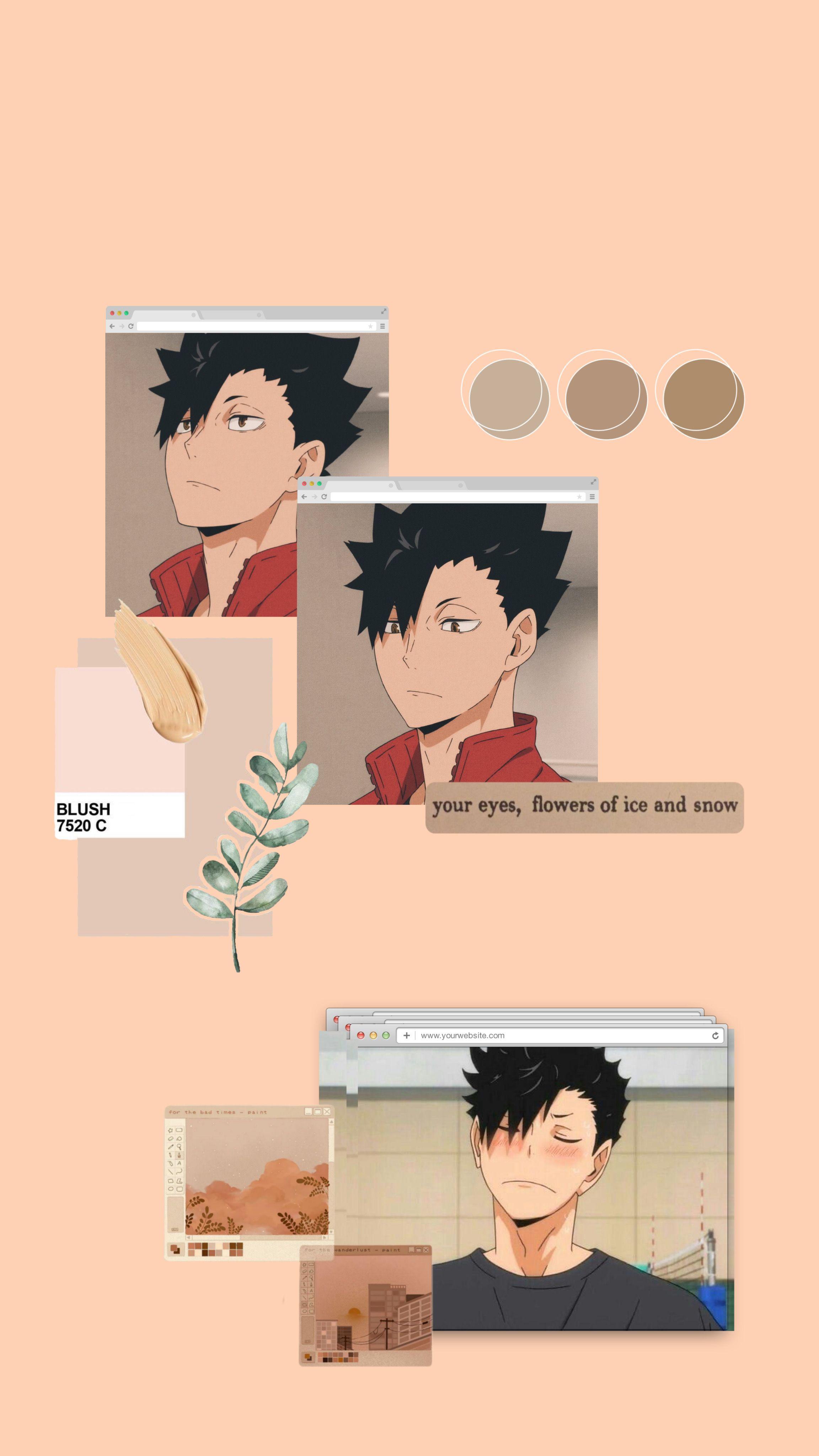 Kuroo Tetsurou Wallpaper Cute Anime Wallpaper Anime Wallpaper Haikyuu Anime