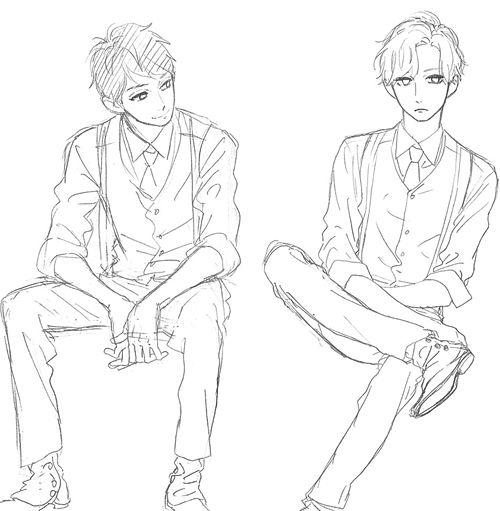 Manga Mangacap Shoujo Cute Drawing People Art Reference Poses Art Reference