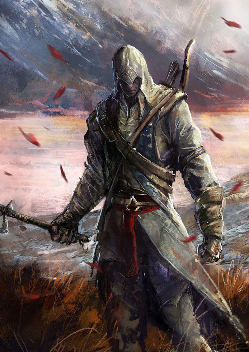 Assassin S Creed Fan Art By Cyrilt On Deviantart God Of War Kratos God Of War Mobius Final Fantasy