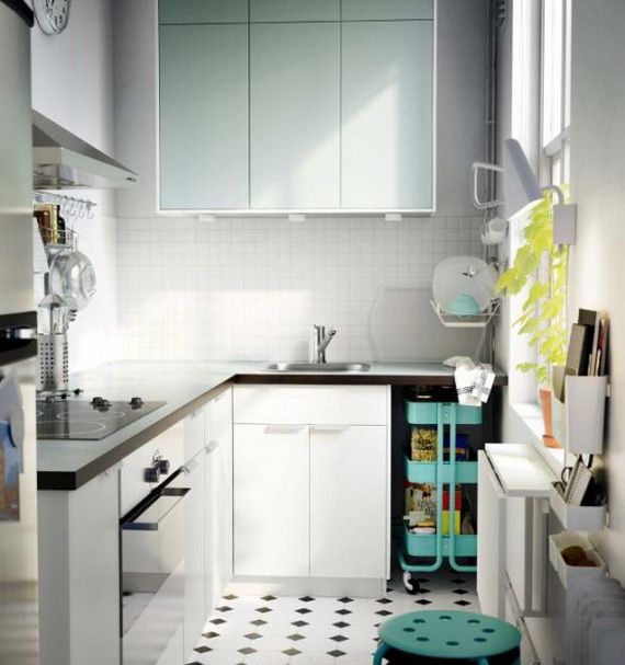 Gemütlich Design Für Kleine Küche Ikea Zeitgenössisch - Küchen Ideen ...