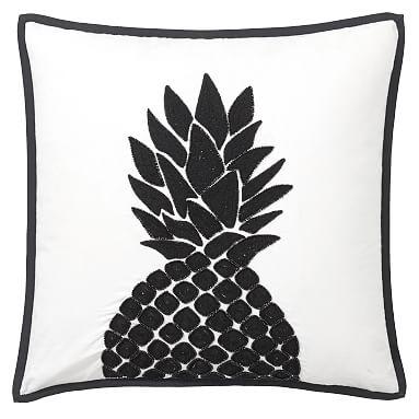 The Emily Amp Meritt Pineapple Pillow Cover 18x18 Multi