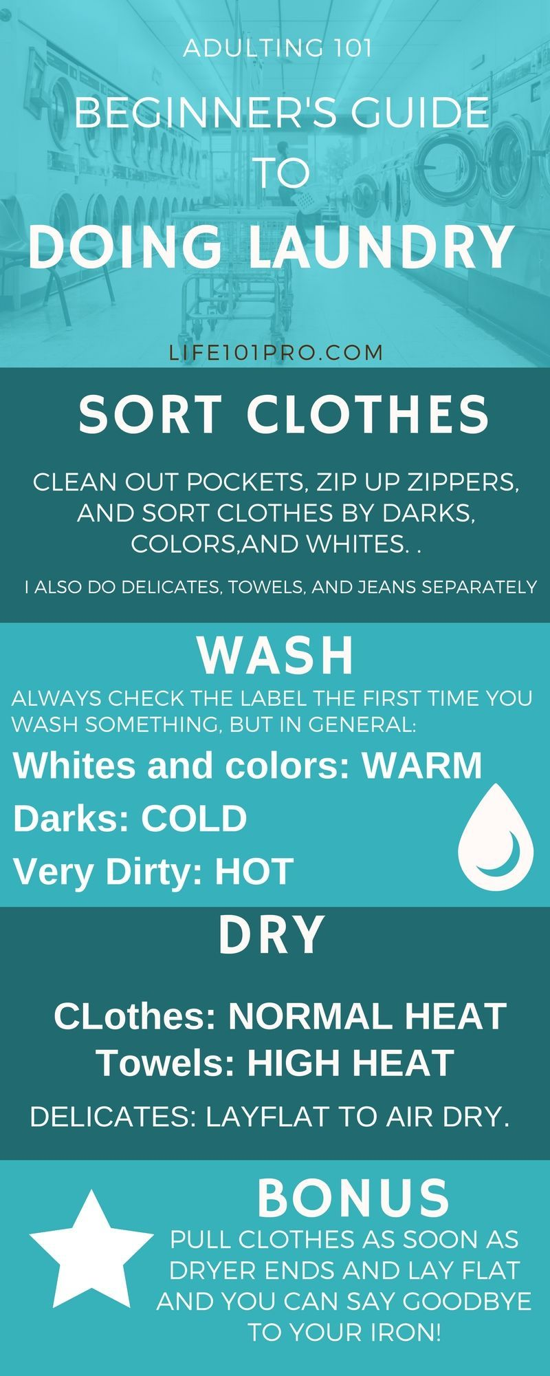 A Beginner S Guide To Laundry Life Skills Class Beginners Guide