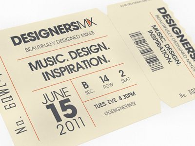 Designers.MX Ticket | Fonts