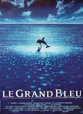 blå film