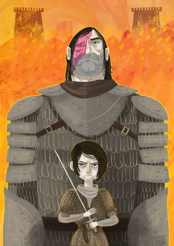 Game Of Thrones Art Show on Behance