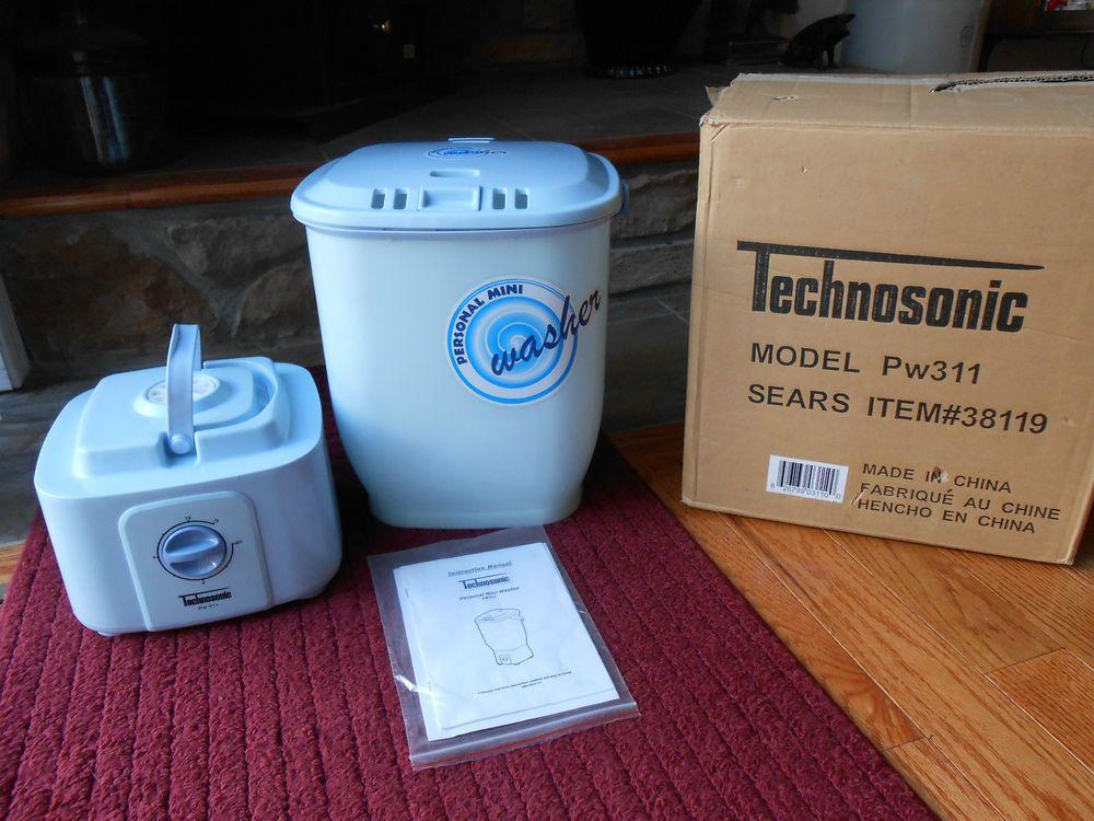 Technosonic Personal Mini Washer PW311 Washing Machine Dorm ...