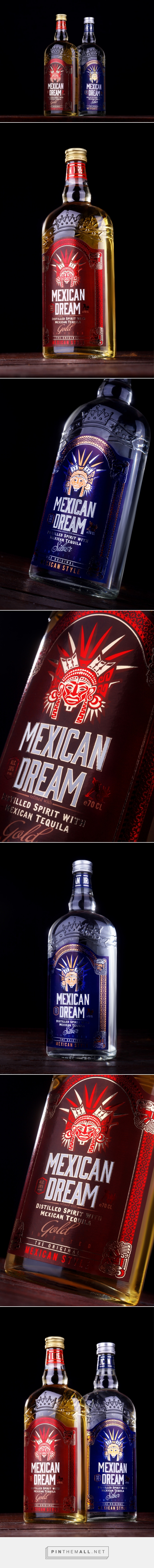 Mexican Dream - Packaging of the World - Creative Package Design Gallery - http://www.packagingoftheworld.com/2016/01/mexican-dream.html