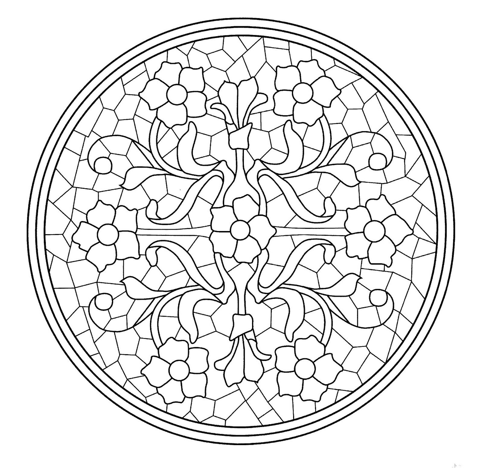 Icolor Art Nouveau Icolor Art Nouveau Mandala Coloring Pages