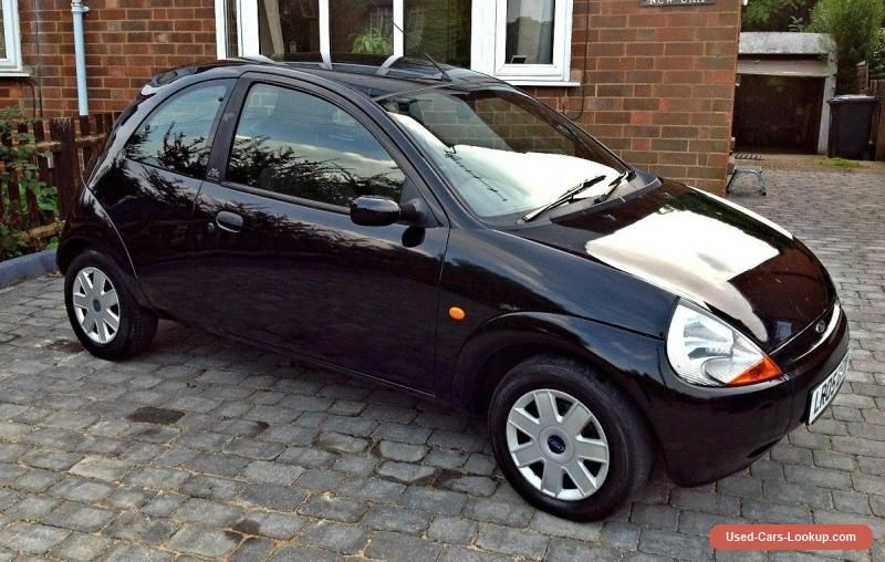 Car For Sale Ford Ka Collection 2005 Panther Black Low Mileage