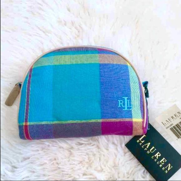 40b7da63c06f NWT Ralph Lauren cosmetic bag case purse Brand new with tags. Ralph Lauren  makeup bag