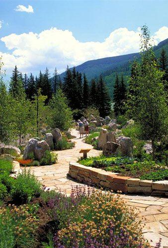 Elegant Betty Ford Alpine Garden In Vail