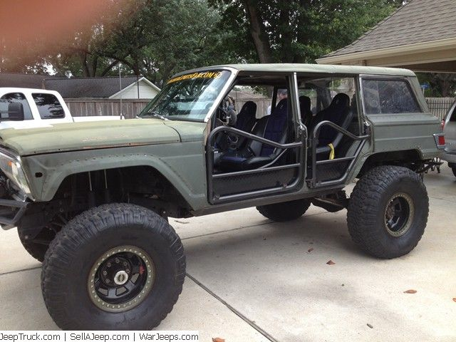 Jeeps For Sale And Jeep Parts For Sale One Of A Kind Custom Built 1973 Jeep Wagoneer Jeep Wagoneer Jeep Parts For Sale Jeep
