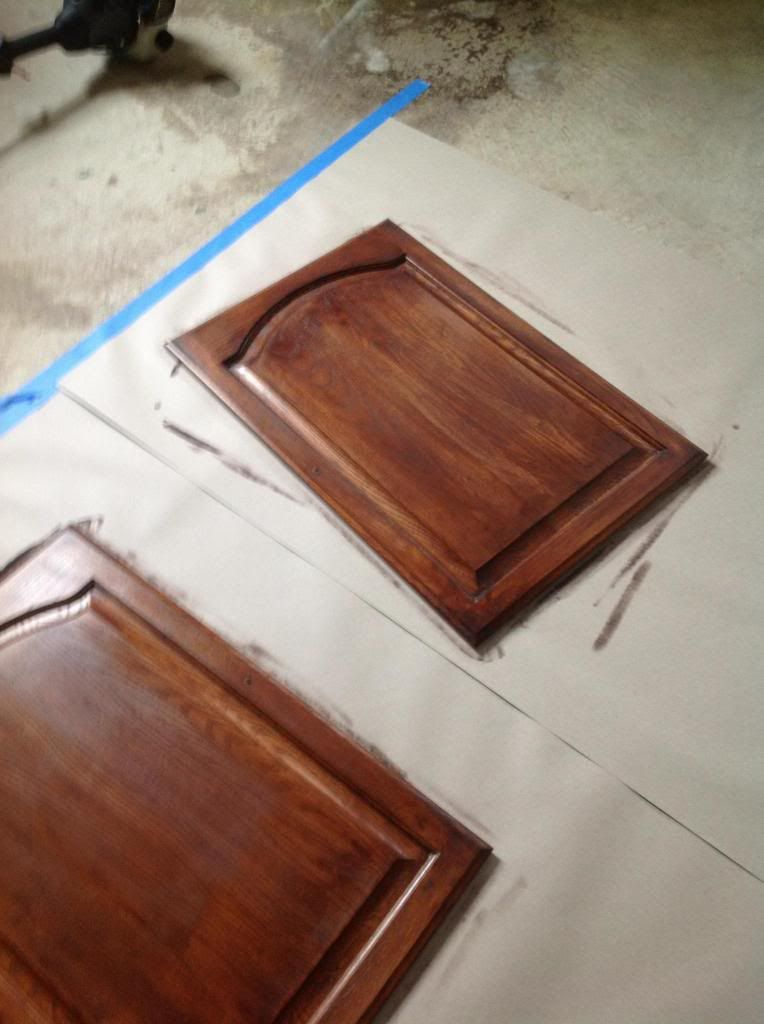 Clean Smart Simple Style Gel Stain Kitchen Cabinet Makeover (Tutorial) & Clean Smart Simple Style: Gel Stain Kitchen Cabinet Makeover ...