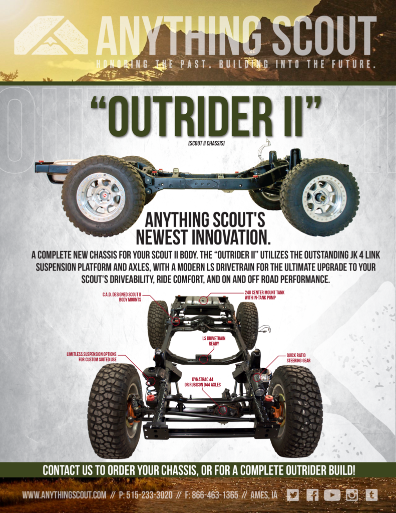 Anything Scout Outrider Chassis Scout II would be awesome need to ...