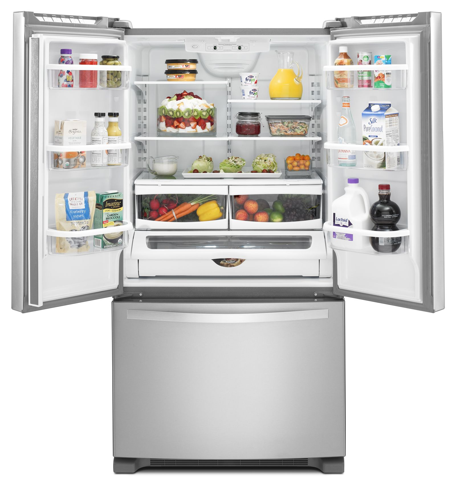 Whirlpool WRF535SMBM 25 cu ft French Door Refrigerator Stainless
