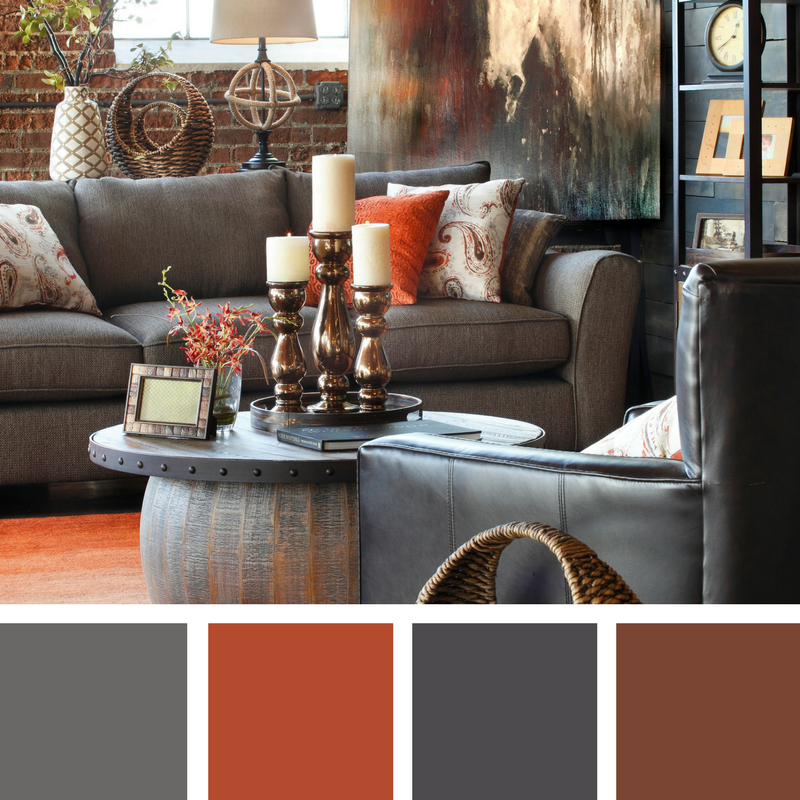 Rustic Living Room Ideas To Make Your Place Look Cozier Color Palette Living Room Rustic Industrial Living Room Living Room Color Schemes