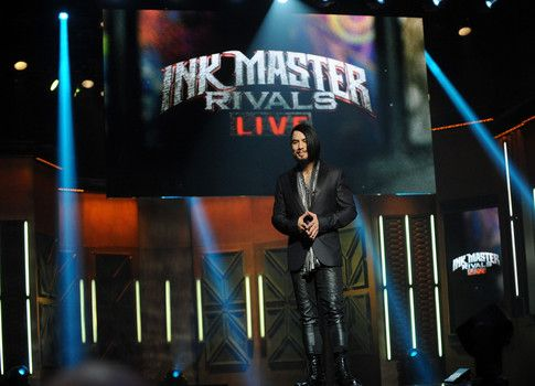 Host of Ink Master Dave Navarro at last season live finale