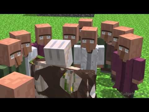 Villager news 3 minecraft animation youtube yup basically annoying villagers minecraft animation sciox Images