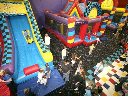 Pump It Up Chattanooga Tennessee