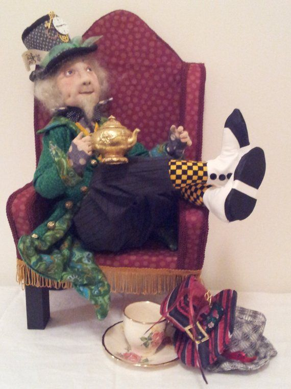 """*NEW* Cloth Art Doll Pattern /""""Badger/"""" By Suzette Rugolo Paper"""