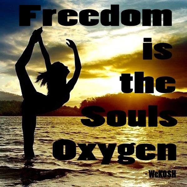 Freedom Is The Souls Oxygen Freedom Quotes Movement Quotes Picture Quotes