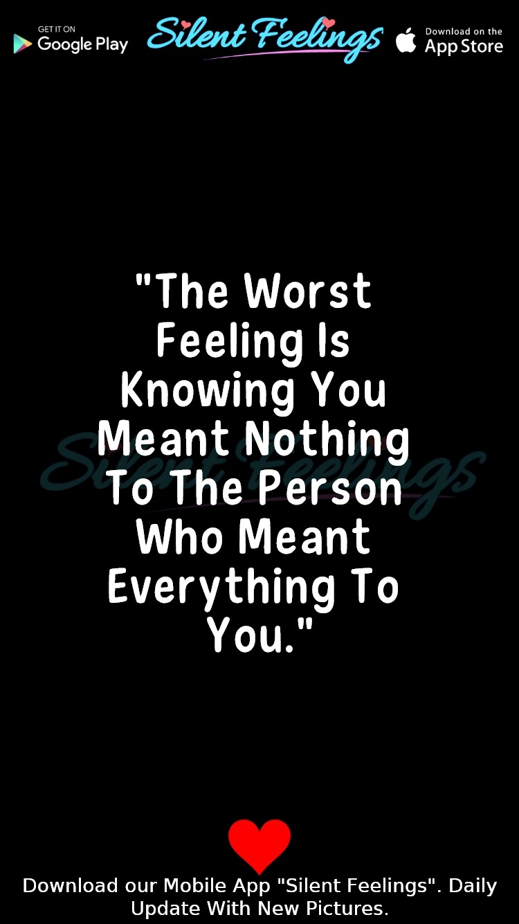 Worst Feeling Quotes
